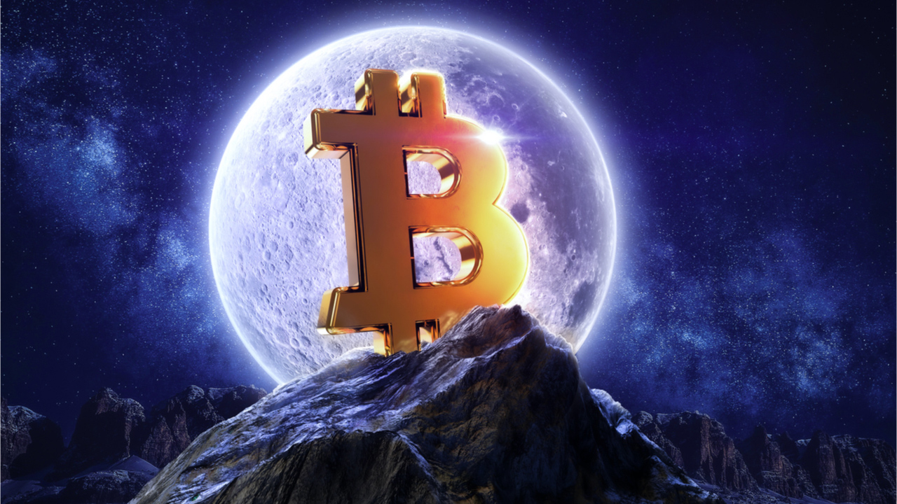 Bitcoin Skyrockets Above $57K, Re-Captures Trillion Dollar Market Cap, Double-Digit Weekly Gains